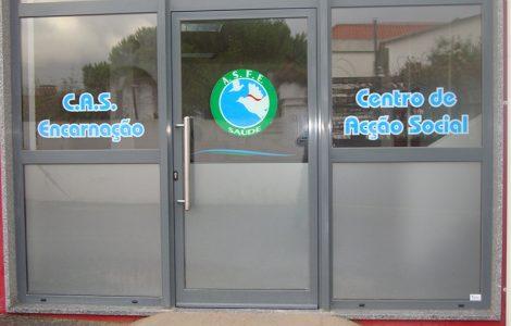 Entrada CAS - Centro de Ação Social ASFE Saúde