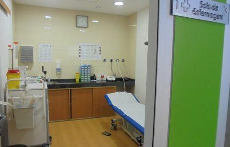 Clínica ASFE Saúde - Sala de Enfermagem