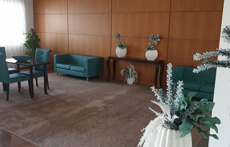 Sala de estar ASFE Saúde
